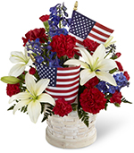 The American Glory Bouquet